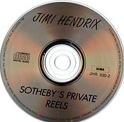 jimi henrix collector cd bootlegs/cd2/jimi hendrix sotheby's private reels /1994