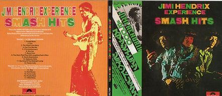 jimi hendrix bootlegs cd/smash hits