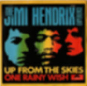 hendrix rotily singles collector-up from the skies  1968 italy