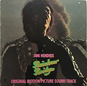 jimi hendrix vinyls albums/rainbow bridge white label promo copy 1971