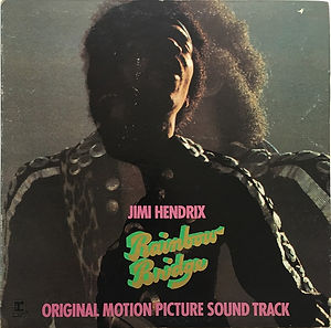 jimi hendrix vinyls albums/rainbow bridge white label promo copy 1971