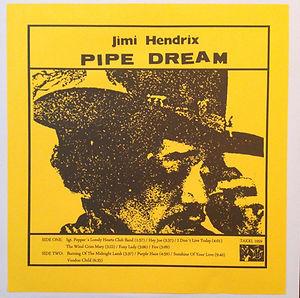 jimi hendrix rotily vinyls collector color vinyls lp/pipe dream 2010