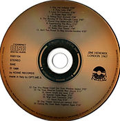 jimi hendrix colector bootlegs cds/live in london/koiné records 1988