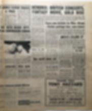 jimi hendrix newspaper 1968 new musical express 26/10/68