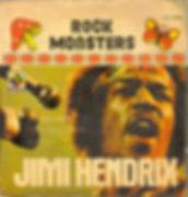 jimi hendrix single vinyl/rock mosters mexico