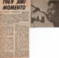 jimi hendrix newspaper/1971 august new musical express/experience review