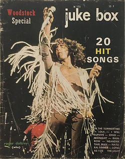 jimi hendrix magazines 1970 / juke box  august  1970