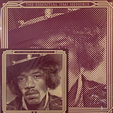 jimi hendrix collector vinyls LPs album/essential jimi hendrix /gloria single/ 1978 england