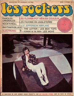 jimi hendrix collector magazines/les rockers N°5/les favoris 1967 en engleterre/jimi hendrix experience 309 points