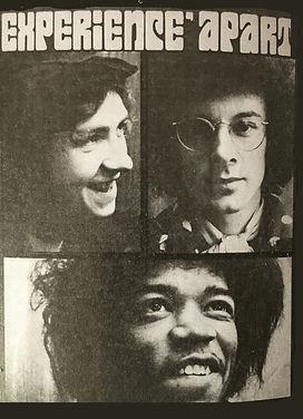 jimi hendrix magazines 1968 / teenbeat december 1968
