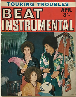 jimi hendrix magazine/beat instrumental april 1968