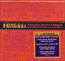 jimi hendrix family edition /band of gypsys cd : 50th anniversary