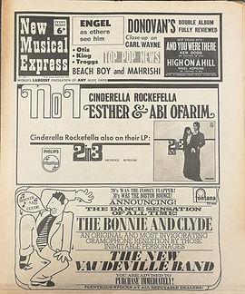 jimi hendrix newspaper/2/3/68 new musical express