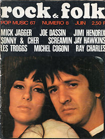 jimi hendrix magazine/rock & folk june 1967