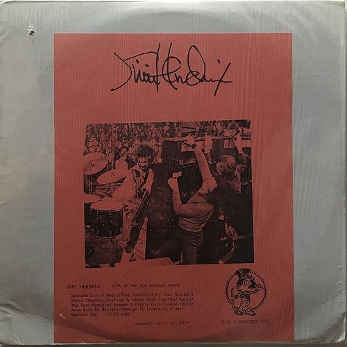jimi hendrix vinyls bootlegs lp /