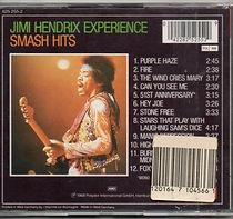 cd/smash hits polydor 1989/jimi hendrix cd collector
