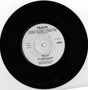 jimi hendrix rotily collector/ purple haze  test pressing