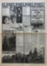 jimi hendrix collector newspaper/hit witheek 15/3/68
