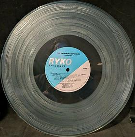 jimi hendrix vinyls album / radio one : side 1 : ryko analogue / vinyls color