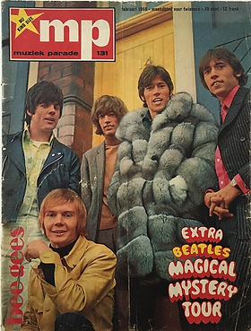 jimi hendrix magazine muziek parade N°131 february 68
