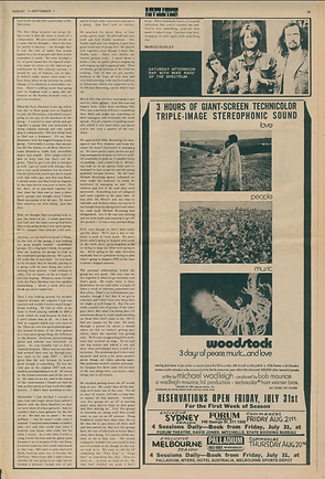 jimi hendrix newspapers 1970 / liberation  august 1, 1970