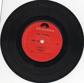 jimi hendrix ep vinyls collector/gypsy eyes ep new zealand 1971