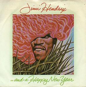 jimi jhendrix singles vinyls/and a happy new year 1974