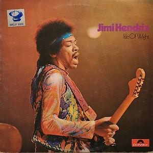 jimi hendrix album vinyl lps/isle of wight swiss 1972