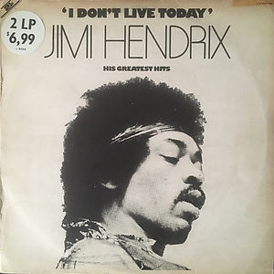jimi hendrix collector  lp /  i don't live today 2lp 2lp