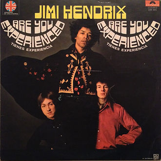 jimi hendrix /vinyl rotily collector lp/are you experienced mexico 1970