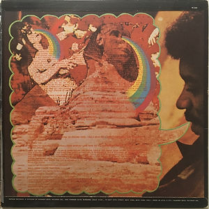 jimi hendrix album vinyl lp/rainbow bridge new zealand 1971