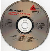 jimi hendrix bootleg 69/the first rays of the new rising sun / triangle records 1993