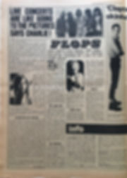 jimi hendrix newspapers 1969/record mirror october 25 1969