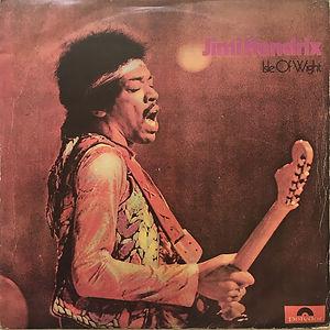 jimi hendrix vinyl album lps/isle of wight 1973 uruguay