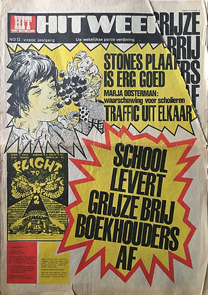 jimi hendrix newspapers 1968 / hit week december 13, 1968