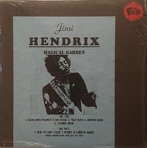 jimi hendrix bootlegs vinyls 1970 /   magical garden
