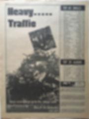 jimi hendrix newspaper 1968/go november 8 1968/top 60 singles/top 20 albums