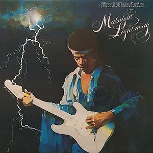 jimi hendrix vinyl album midnight lightning  / 1975 italy