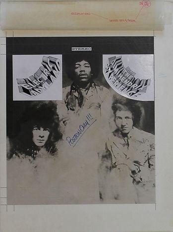 """jimi hendrix memorabilia 1968 / unreleased altermate """"electric ladyland"""""""