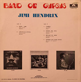 jimi hendrix collector vinyls LP/albums/band of gypsys reissue 1974 venezuela