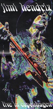 jimi hendrix bootlegs cd / live in copenhagen 1968/70