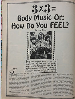 jimi hendrix magazine hullabaloo august 1968