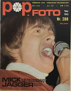 jimi hendrix magazine/pop foto february 1968