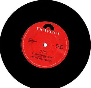 jim hendrix vinyl singles EP:side 2 /manic depression