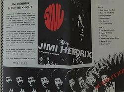 jimi hendrix memorabilia 1967 / flyer : var14dag !