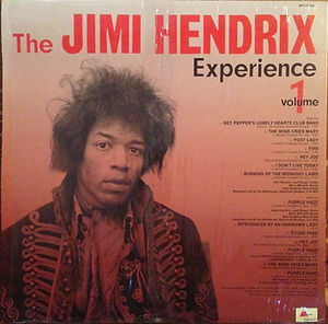 the wild man of pop plays vol 1/jimi hendrix rotily vinyls collector