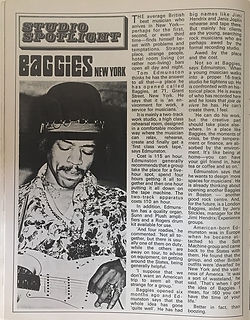 jimi hendrix magazines 1970 / beat instrumental  july 1970