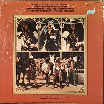 jimi hendrix rotily vinyl/ smash hits 1973