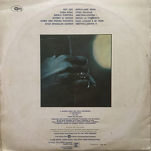 jimi hendrix vinyls 1974 /sound track recording from the film / uruguay