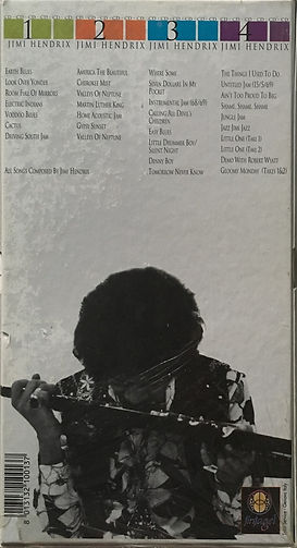jimi hendrix box cd bootleg album/every way to paradise